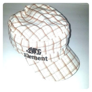 ELEMENT | LIKE NEW Plaid pageboy messenger ballcap